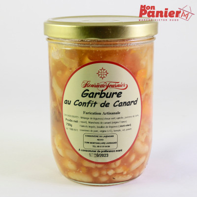 Garbure bocal 750 g