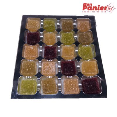 Pâte de fruits Maison