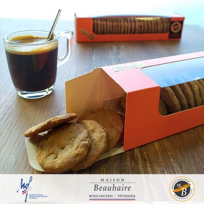 Biscuits Hazelnut 200g  - Maison Beauhaire