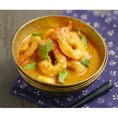 CREVETTES CURRY (300g)