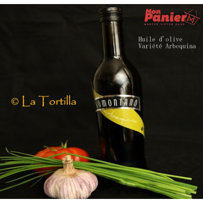 HUILE D'OLIVE EXTRA VIERGE ARBEQUINA
