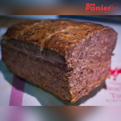 Paté basque tranche 200g